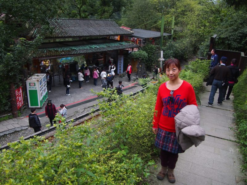Entrance to Shifen Waterfall, Shifen (Taiwan) @2014