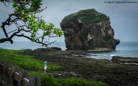 "Sail Rock (also known as ""Nixon's Head""), Kenting National Park (Taiwan)"