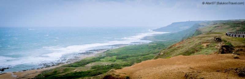 Coastline at Fengchuisha (風吹沙), Kenting National Park (Taiwan)