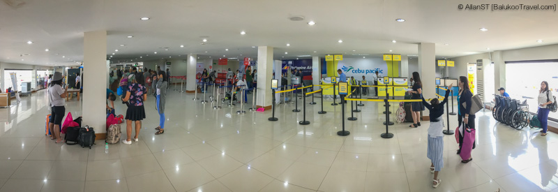Kalibo Airport departure hall (Philippines) @Sep2017