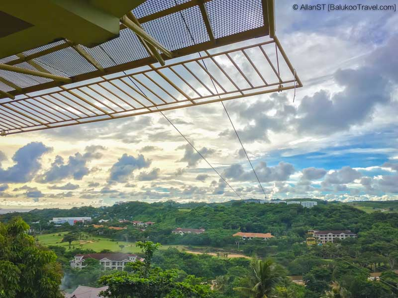 View from Happy Planet Zipline + Cable Car, Boracay (Philippines) @Sep2017
