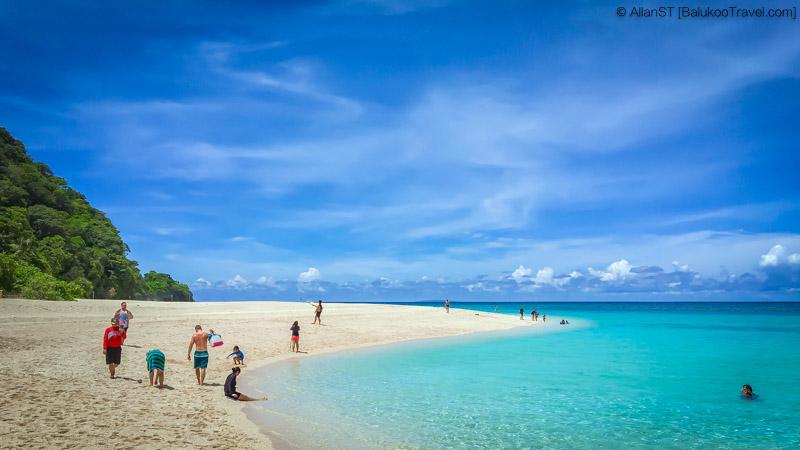 Western end of Puka Beach, Boracay (Philippines) @Sep2017