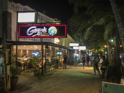 Gerry's Restuarant & Bar, White Beach, Boracay (Philippines) @Sep2017