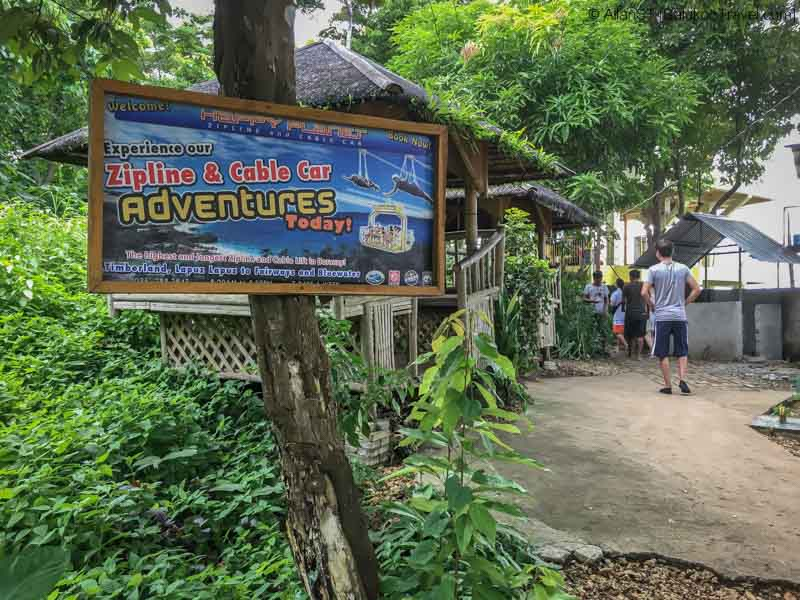 Happy Planet Zipline + Cable Car, Boracay (Philippines) @Sep2017