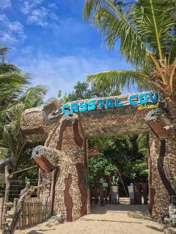 Island hopping cruise, Crystal Cove Island, Boracay (Philippines) @Sep2017