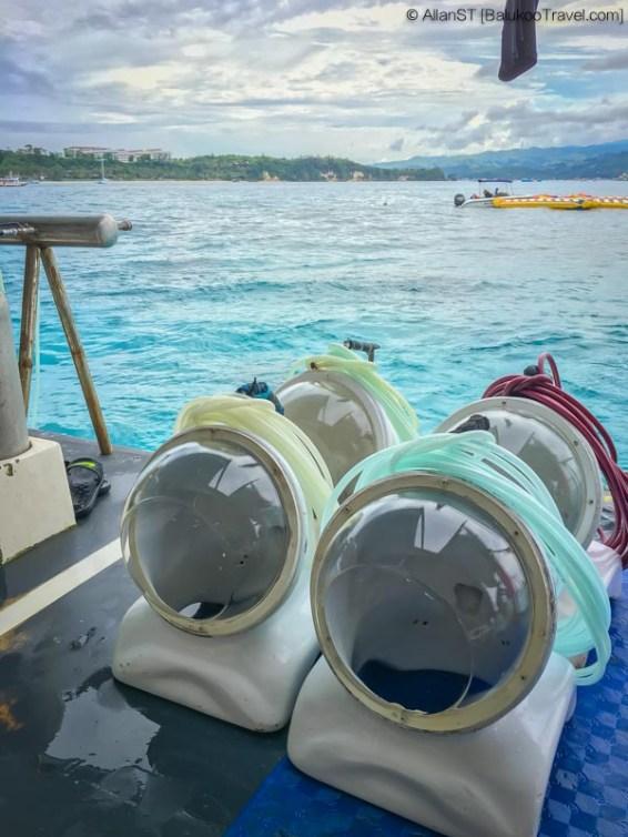Helmet diving, Boracay (Philippines) @Sep2017