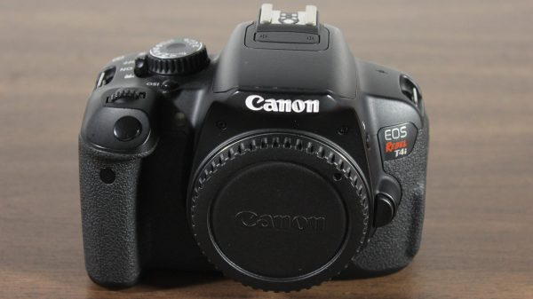 Used Canon EOS Rebel T4i - Front