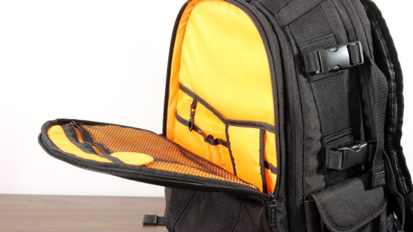 Amazon Basics Camera Backpack Outer Pocket