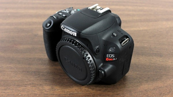 Canon EOS Rebel SL2 / EOS 200D DSLR Camera Front