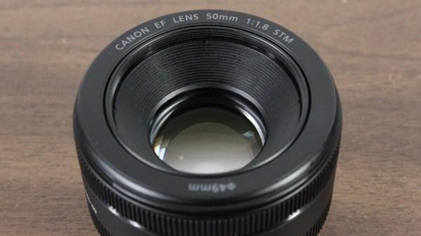 Used Canon EF 50mm 1:1.8 STM Lens