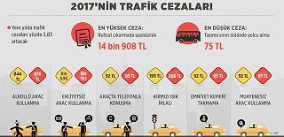 2017 yılı Trafik Cezaları (Excel)