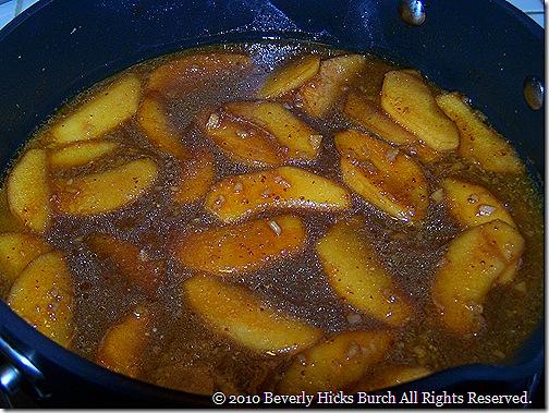 Apple-Bourbon Sauce