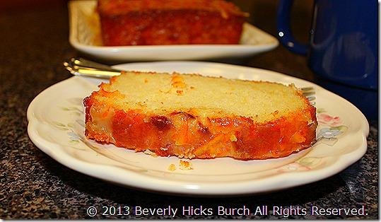 Orange Dreamsicle Pound Cake C