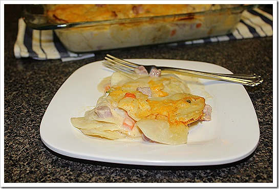 Sour Cream Scalloped Potatoes