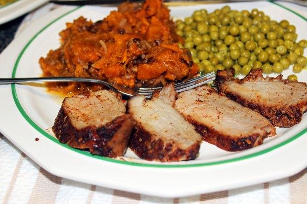 Chili Maple Pork Tenderloin