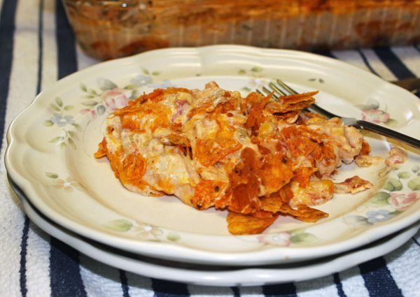 Awesome Tex - Mex Chicken and Doritos Casserole
