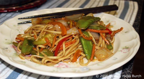 Unforgettable Vegetable Lo Mein