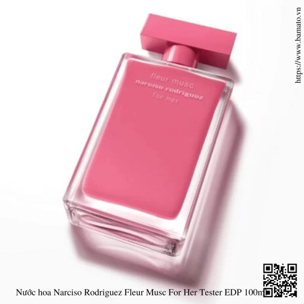Nuoc hoa Narciso Rodriguez Fleur Musc For Her Tester EDP 100ml 1