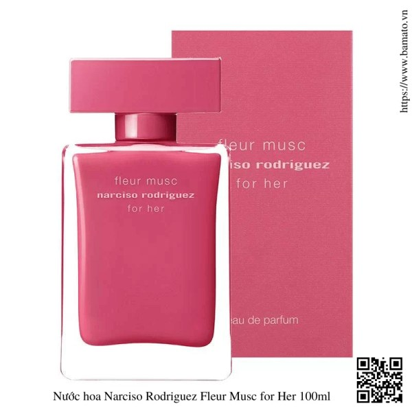 Nuoc hoa Narciso Rodriguez Fleur Musc for Her 100ml 1