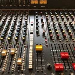 BamBam Studio Soundcraft 6000 analog mixing desk