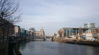 Berlino lungofiume