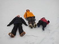 distesi sulla neve