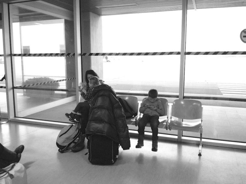 attesa aeroporto