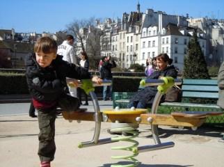 Parigi con bambini