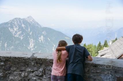 Sul monte Lussari