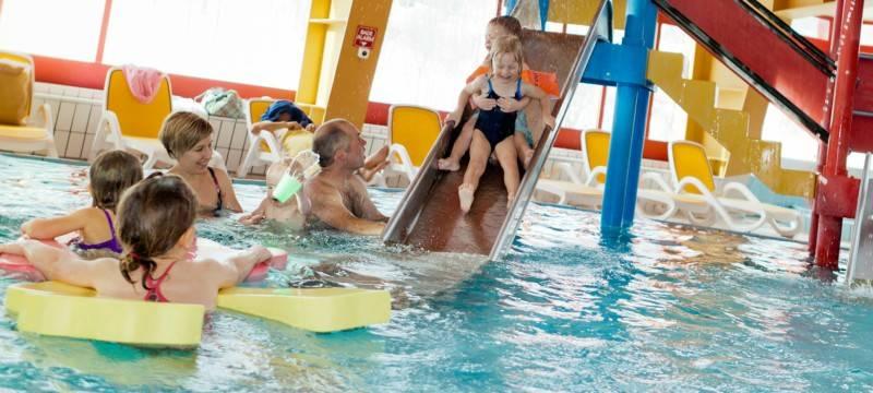 Leukerbad piscina per bambini