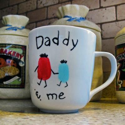 tazza in ceramica per la festa del papà