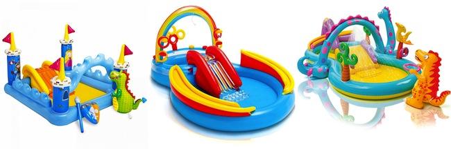 piscine gonfiabili per bambini con scivolo