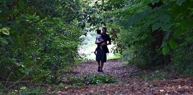 parco della fonte di San Gemini bosco bambini