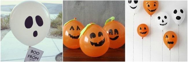 lavoretti halloween palloncini