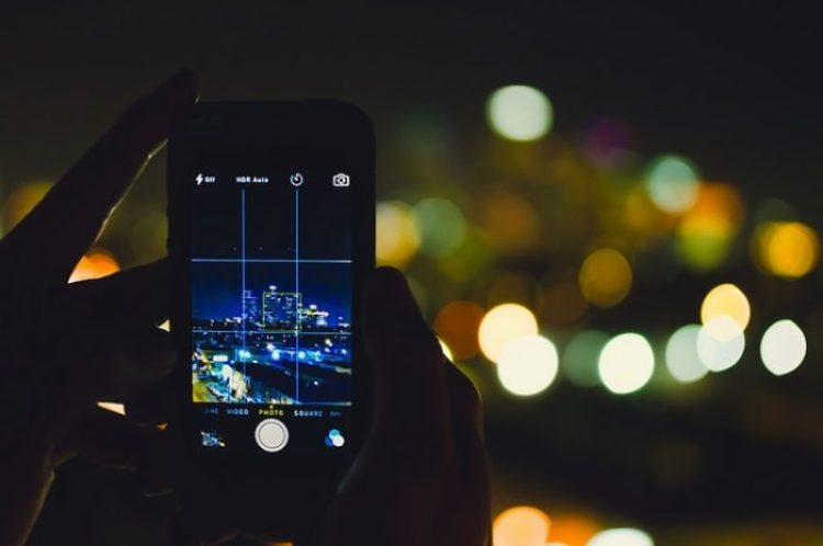 fare foto con smartphone