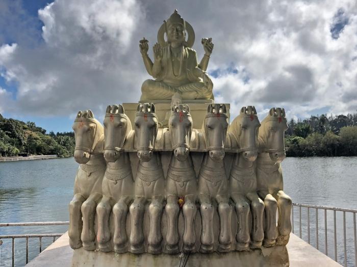 Tempio Ganga Talao a Mauritius