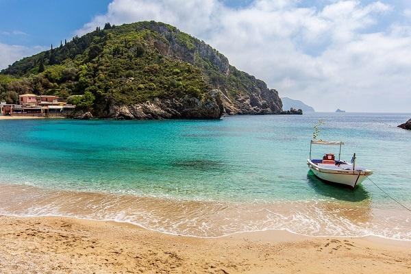 Le spiagge di Corfù