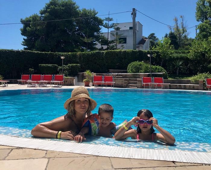 Park hotel Valle Clavia, le piscine