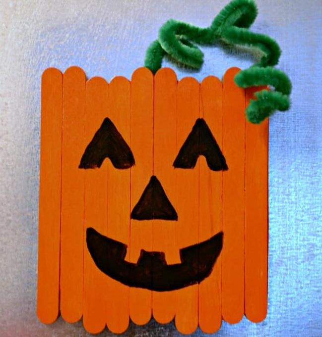 Calamita a forma di zucca di Halloween