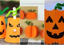 6 lavoretti di Halloween: zucca fai da te