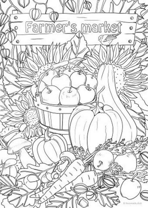 Zucca di Halloween: disegno da colorare e stampare per bambini