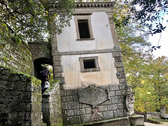 Parco dei Mostri Bomarzo, la Casa Pendente