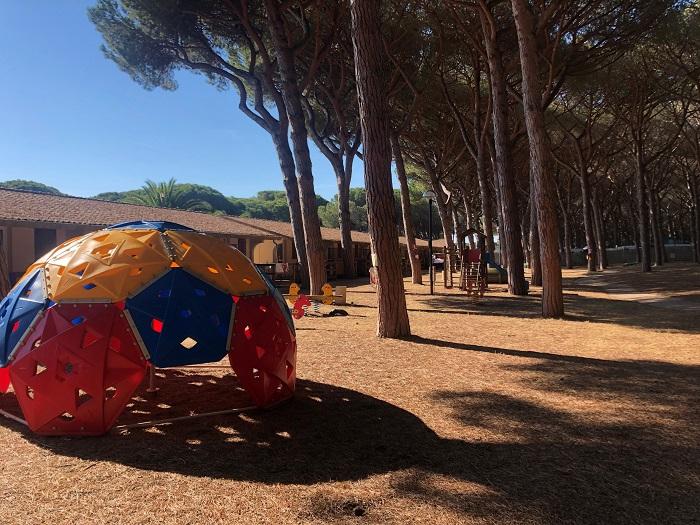Il grande parco giochi del Villaggio Golfo degli Etruschi