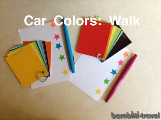 Car Colors Walk