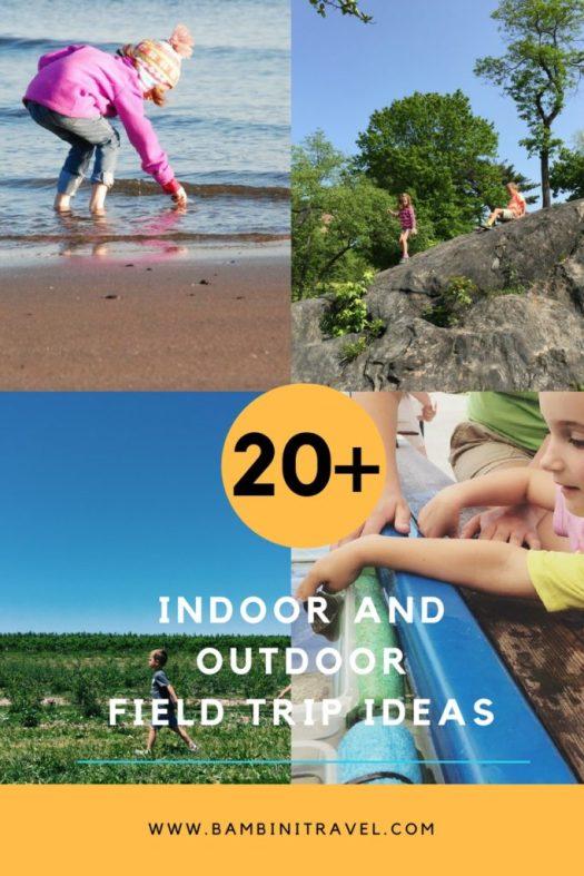20+ Best Indoor and Outdoor Field Trip Ideas