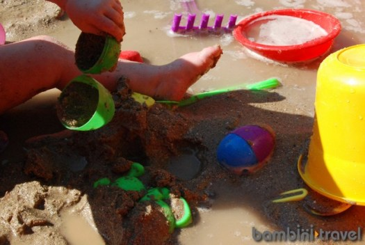 Water and Sand Sensory Play
