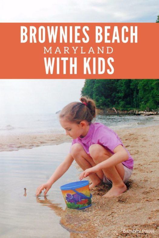 Brownies Beach Maryland with Kids