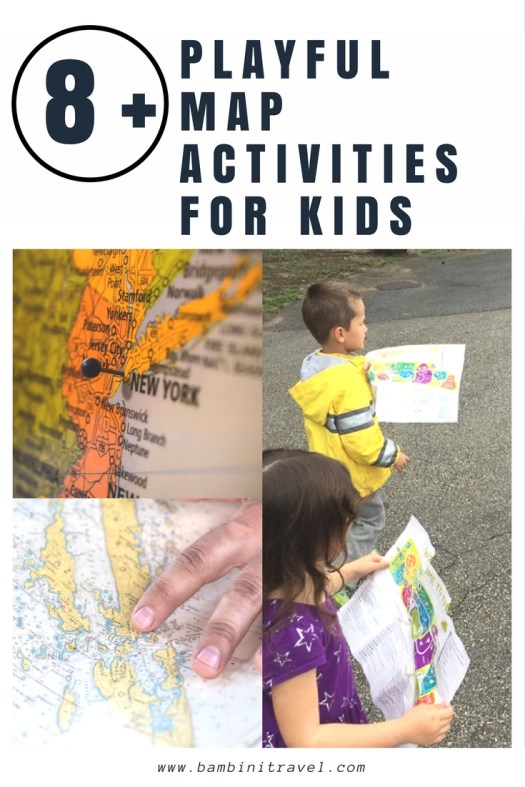 8+ Playful Map Activities for Kids