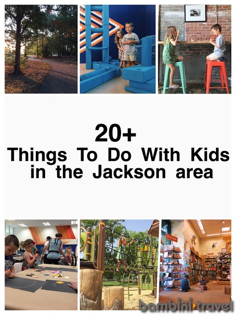 21 Best Things to do with Kids in Jackson MS