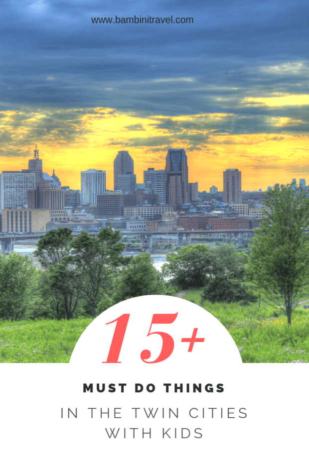 15+ Must Do Things in the Twin Cities with Kids